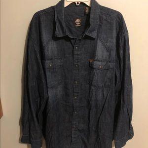Timberland L/S Jean Shirt Size XXL